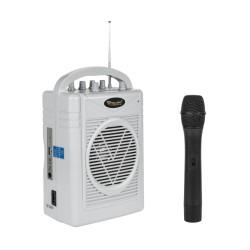 Mikrofonas Stiprintuvas Su Nešiojamų Sh-130 Rinkinys