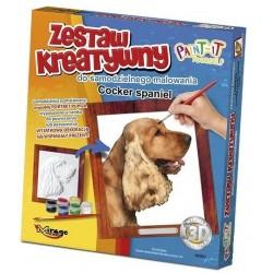 Šunys - Iškilūs Dažymas Serijos Šunys - Kokerspanielis