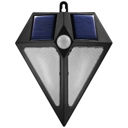 Sienos Lempa Saulės Energija 6 Led Maclean Su Judesio Davikliu 2X Saulės Mce168
