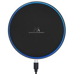 Qi Indukciniai Įkroviklis Wireless Desktop Maclean Mce250 B Greitas Įkrovimas, Juoda