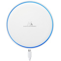 Qi Indukciniai Įkroviklis Wireless Desktop Mce250 Be Maclean, Fast Charge, White