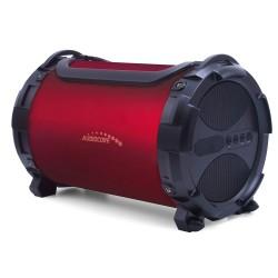 "Garsiakalbis Bazooka, Bluetooth, Fm, ""Microsd"" Kortelė Audiocore Ac880 Bordo, Ipx4, 2000Mah"