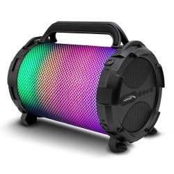 "Garsiakalbis Bazooka, Bluetooth, Fm, ""Microsd"" Kortelė Audiocore Ac885 Led 2500Mah"
