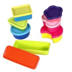Nustatyti Iš 7 Maži Konteineriai Plast Team Mažyčiai