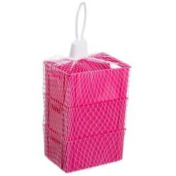 """Set Of 3 Organizatoriai Plast Team """"Mini Hobi Box Rožinės"""