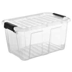 Konteineris Su Dangčiu Plast Team Pagrindinis Dėžė 30L