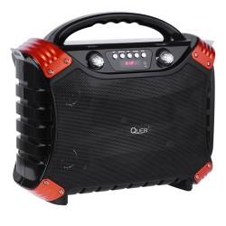 Nešiojami Quer Aktyvi Garsiakalbių Sistema Su Mp3 Suderinamumo, Bluetooth, Fm Radijas Funkcija Ir Karaoke