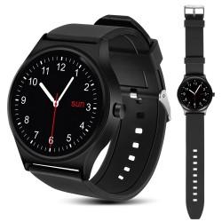 Smartwatch Protingas Rs100 Bluetooth Laikrodis, Širdies Ritmo Nanors Juoda