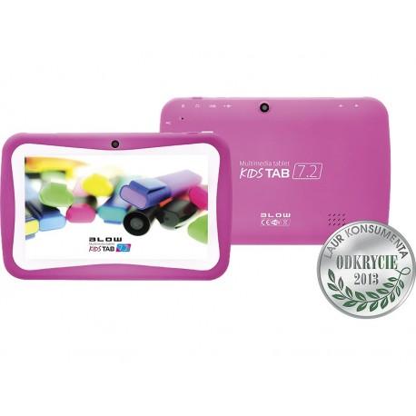 79-006 Planšetinis kompiuteris kidsTAB 7.2 (rožinė + dėklas)