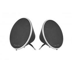"""Km0520 Nešiojami Bluetooth """"Garsiakalbis Kruger & Matz"""" Soul Stereo / Juoda"""