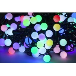 Zar0411 Rgb Led Kalėdų Eglučių Žiburiai - 10M (Sklandžiai Pasikeičia Spalva)