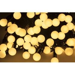 Zar0413 Kalėdų Eglučių Žibintai Su Led Apšvietimas Režimo Pasirinkimo - Šilta Balta - 10M