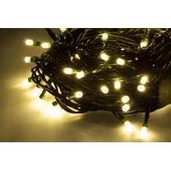 Zar0447 Kalėdų Eglučių Žiburiai 10M, Patalpų, Šilta Balta, 230V