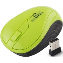 Tm115G 2.4Ghz Bevielė Pelė Usb Optical 3D Neoninė Žalia
