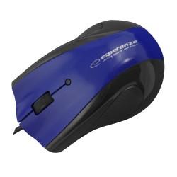 Em125B Pelės Laidinio Usb Optinis 3D Gelio Padas, Mėlyna