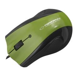 Em125G Pelės Laidinio Usb Optical 3D Gelis Trinkelėmis, Žalia