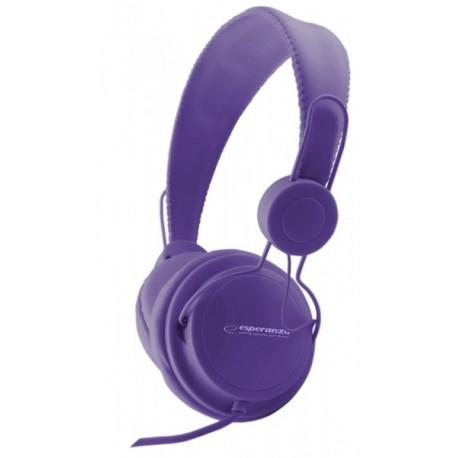 Eh148V Ausinės Garso Sensacija Violetinė Esperanza