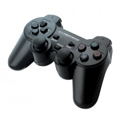 Eg106 Gamepad Ps2 / Ps3 / Pc Usb Juoda Corsair Esperanza