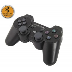"Egg109K Bluetooth ""Ps3 Wireless Gamepad Jūrų Juoda Esperanza"