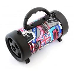 "Zs47A Boombox ""Bluetooth Mp3 Radijas Vamzdis"