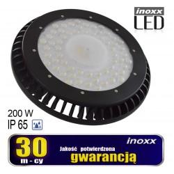 Pramoninė lempa LED ip65 200w high bay UFO 24 000lm 6000k šalta