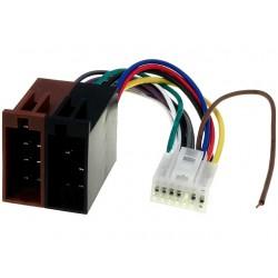 KK555 Kenwood CABLE KRC-555 balta 14 kontaktų ISO