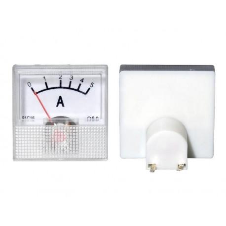 51-505 Miernik analogowy mini 5A+ bocznik