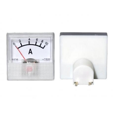 51-510 Miernik analogowy mini 10A + bocznik