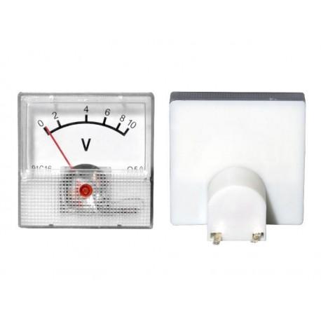 51-610 Miernik analogowy mini 10V