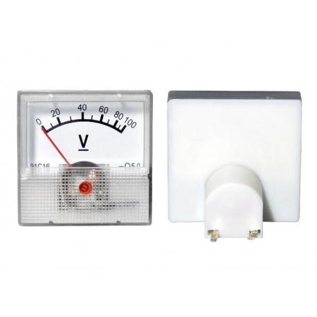 51-611 Miernik analogowy mini 100V