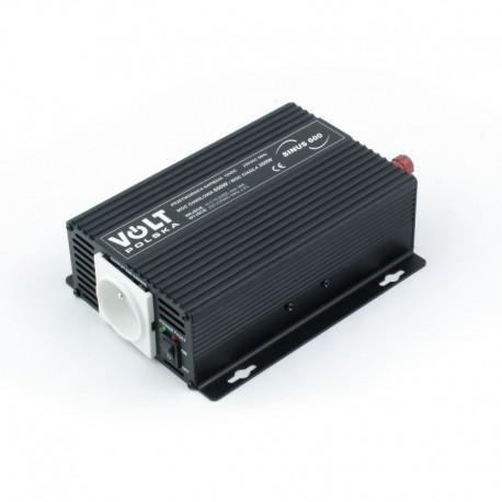 3SIP060012 Sinus-600 12V Przetwornica 300/600W 12/230V
