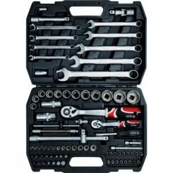 YT-1269 Įrankių rinkinys 1/2 colio, kpl. 82 vnt., l