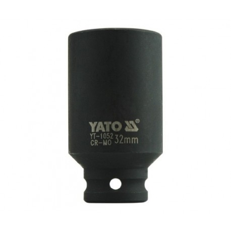 YT-1052 Nasadka udarowa długa 1/2 cala 32 mm