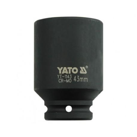 YT-1143 Nasadka udarowa długa 3/4 cala 43 mm
