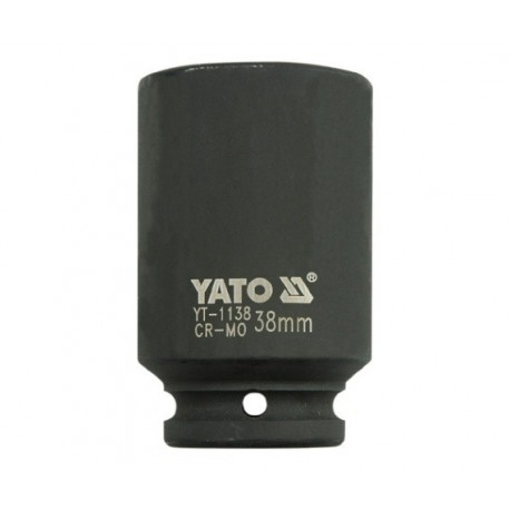 YT-1138 3/4 colio 38 mm ilgio smūgio dangtelis