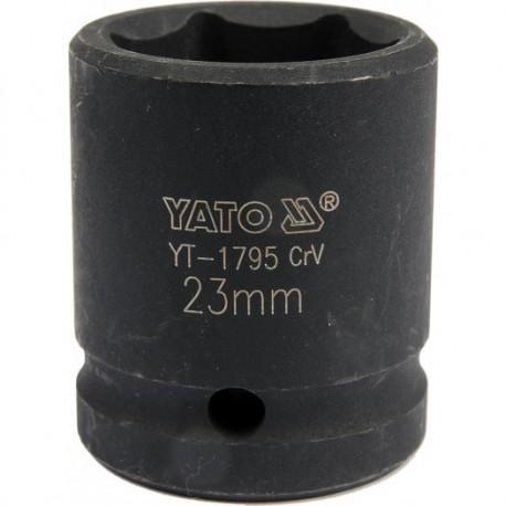 YT-1795 Nasadka udarowa 1/2 cala 23 mm, crv