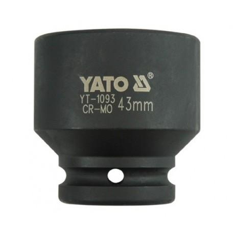 YT-1093 3/4 colio 43 mm smūgio dangtelis