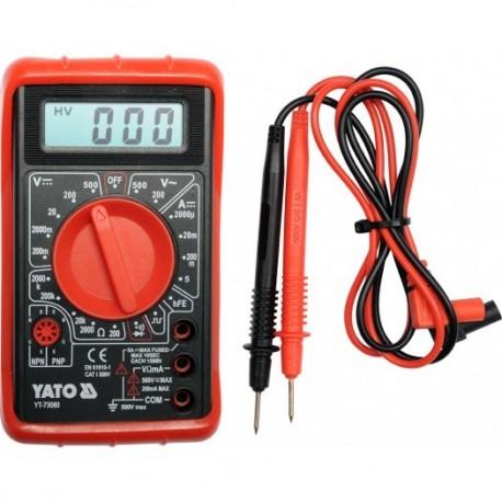 YT-73080 Multimetr/miernik cyfrowy, buzer