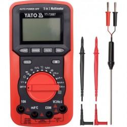 YT-73087 5-in-1 Multimeter/ Digital Meter YT-73087 5-in-1 Multimeter / Skaitmeninis skaitiklis