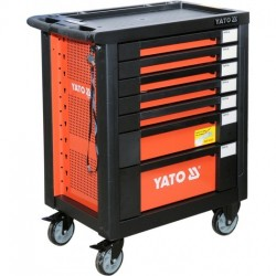 YT-55290 Szafka serwisowa z narzędziami, kpl. 212cz.