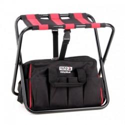 YT-7446 Rankinis krepšys su kėde ir kišenėmis 42x29x30 cm