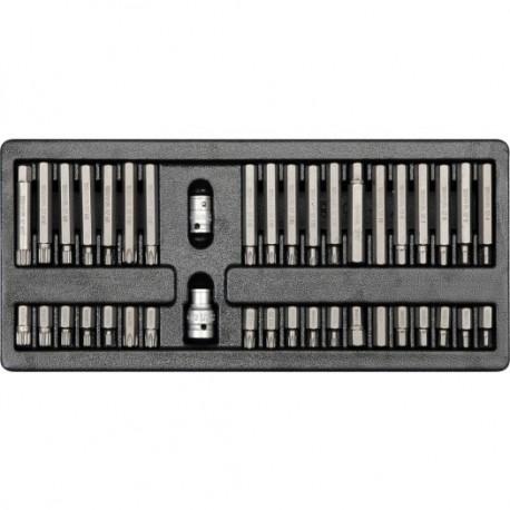 YT-5538 Bity różne, szuflada kpl. 40szt.