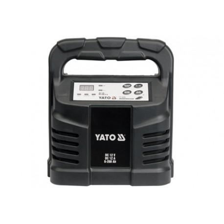YT-8302 Prostownik elektroniczny 12v 12a 6-200ah