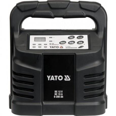YT-8303 Prostownik elektroniczny 12v 15a 6-200ah