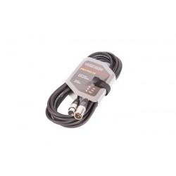8002-7 XLR-XLR juodas VK 8002 7m kabelis