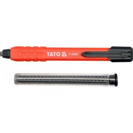 YT-69281 Ołówek stolarski / murarski automatyczny z dodatkowymi grafitami