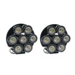 1804 Światła do jazdy dziennej LED 7 Point