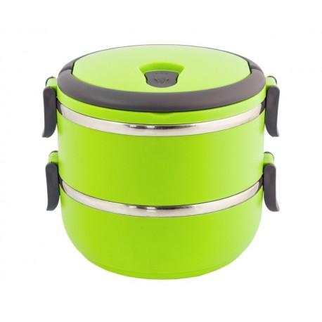Ag479A 1,4-Liter-Behälter Lunchbox Grün