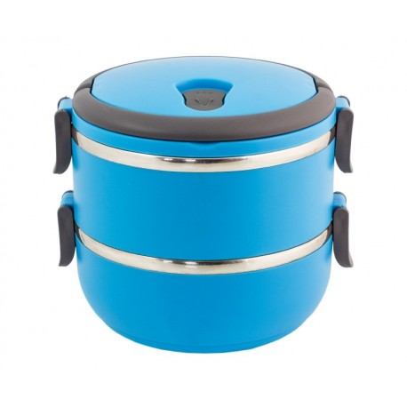 Ag479B 1,4-Liter-Behälter Lunch-Box Blau