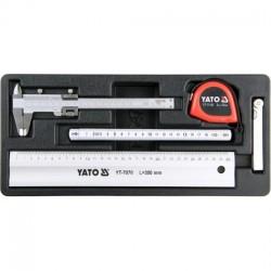 YT-55474 Matavimo įrankių rinkinys - 5 dalys